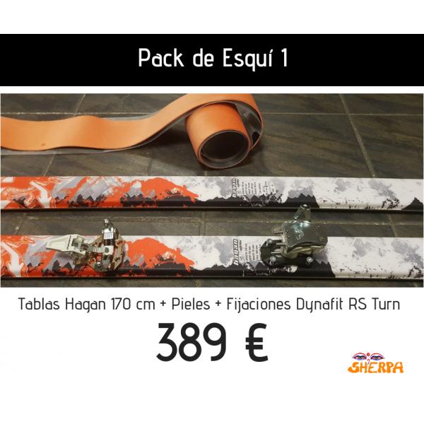 Pack de esquí 1
