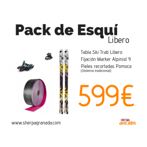 Pack de esquí Libero