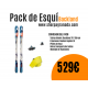 Pack de esquí Backland