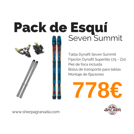 Pack Esquí Seven Summit + Superlite