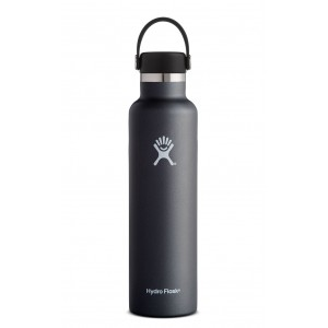 Hydro Flask Standard Mouth 24 oz Negro