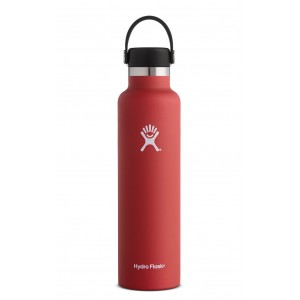 Hydro Flask Standard Mouth 24 oz Lava