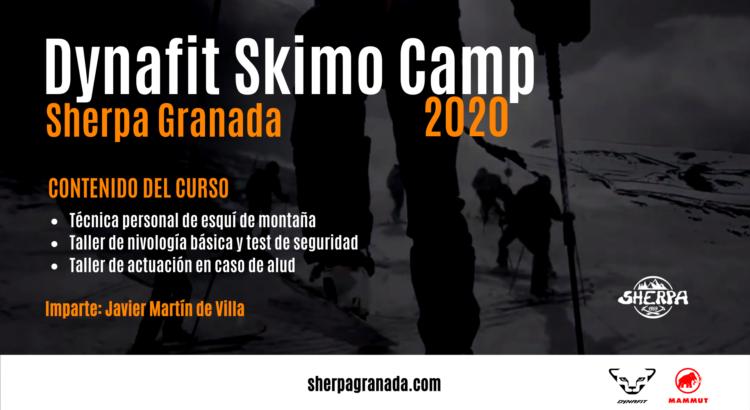 Curso de esquí de montaña organizado por Deportes Sherpa en colaboración con Dynafit.